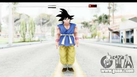 Dragon Ball Xenoverse Goku GT Adult SJ for GTA San Andreas second screenshot