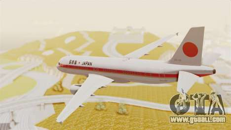 Airbus A320-200 Japanese Air Force One for GTA San Andreas right view