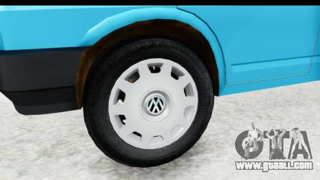 Volkswagen T4 for GTA San Andreas back view