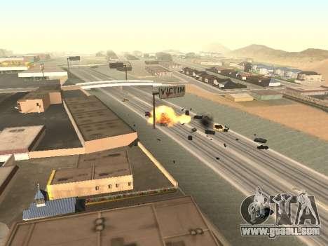 Blast machines for GTA San Andreas