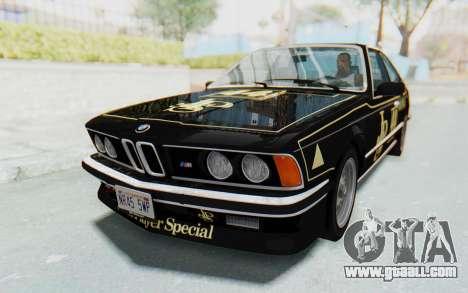 BMW M635 CSi (E24) 1984 IVF PJ3 for GTA San Andreas