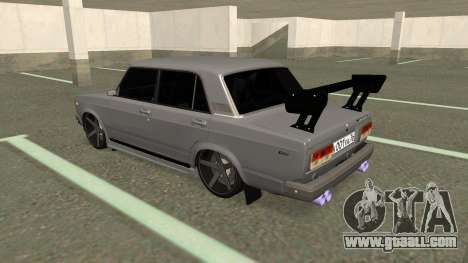VAZ 2107 Drift for GTA San Andreas right view