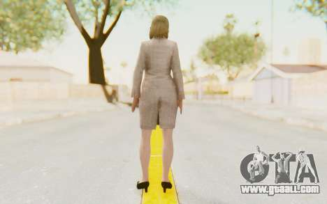 Dead Rising - Jessica McCartney for GTA San Andreas third screenshot