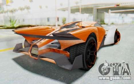 GTA 5 Grotti Prototipo v1 IVF for GTA San Andreas left view