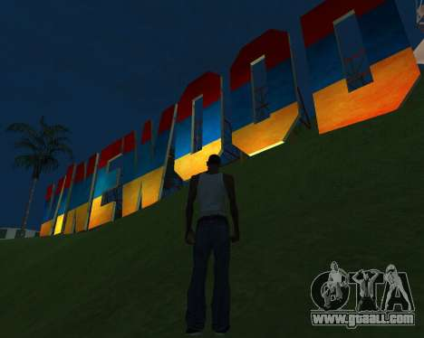 New Vinewood Armenia for GTA San Andreas second screenshot