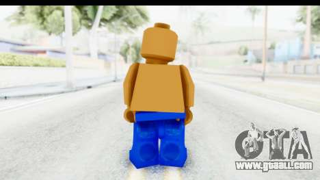 LEGO Carl Johnson for GTA San Andreas third screenshot