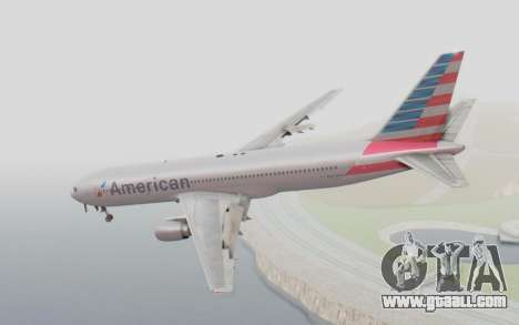 Boeing 767-300ER American Airlines for GTA San Andreas left view