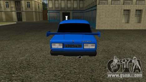 VAZ 2107 Sport for GTA San Andreas back view