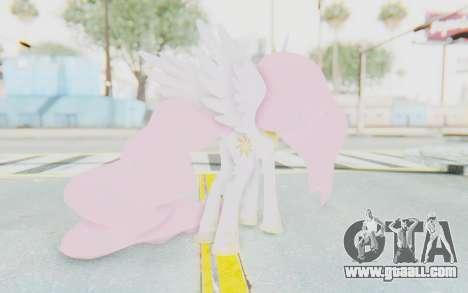 Princess Molestia MLP for GTA San Andreas third screenshot
