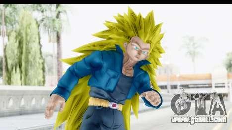 Dragon Ball Xenoverse Future Trunks SSJ3 for GTA San Andreas