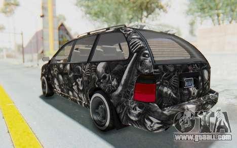 GTA 5 Vapid Minivan Custom for GTA San Andreas