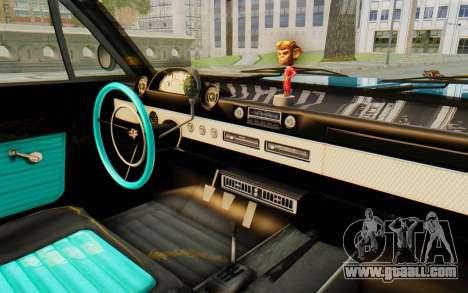 GTA 5 Declasse Voodoo PJ for GTA San Andreas inner view