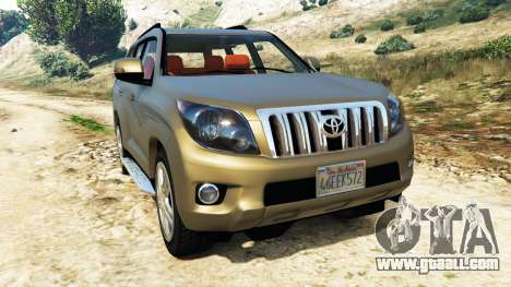 Toyota Land Cruiser Prado 2012 for GTA 5