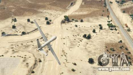 GTA 5 MQ-9 Reaper UAV 1.1 fourth screenshot