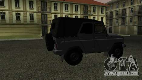 UAZ-469 for GTA San Andreas right view