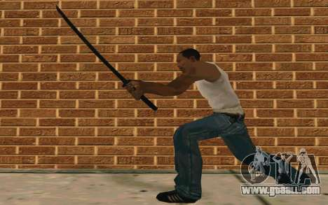 Sword of Blades for GTA San Andreas fifth screenshot