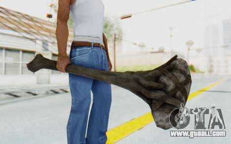 Giant Club from TES Skyrim for GTA San Andreas