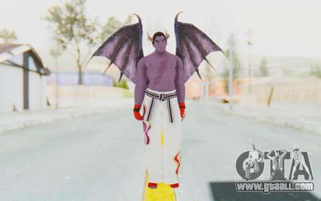 Devil Kazuya for GTA San Andreas second screenshot