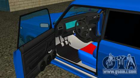 VAZ 2107 Sport for GTA San Andreas upper view