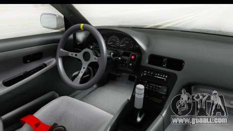 Nissan 240SX 1989 v2 for GTA San Andreas inner view