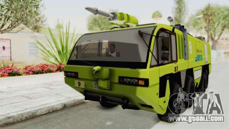 Rosenbauer Panther 8x8 Malaysia Airports for GTA San Andreas