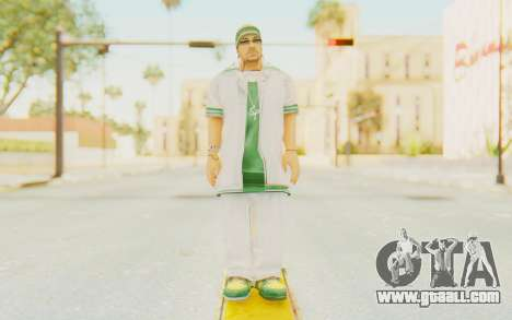 Def Jam Fight For New York - Sean Paul v1 for GTA San Andreas second screenshot