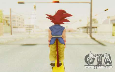 Dragon Ball Xenoverse Goku Kid GT SSG for GTA San Andreas third screenshot