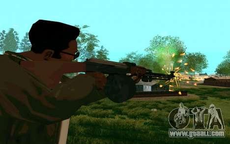 The PKK for GTA San Andreas sixth screenshot