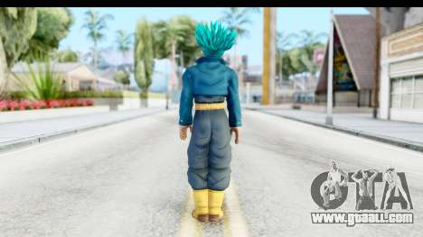 Dragon Ball Xenoverse Future Trunks SSGSS for GTA San Andreas third screenshot