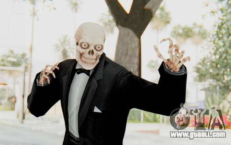 Skeleton in Tuxedo for GTA San Andreas