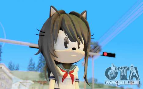 Yandere-Chan The Hedgehog for GTA San Andreas