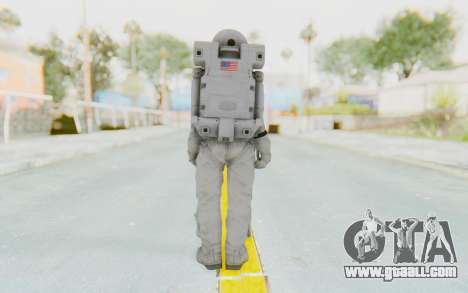 CoD Ghosts USA Spacesuit for GTA San Andreas third screenshot