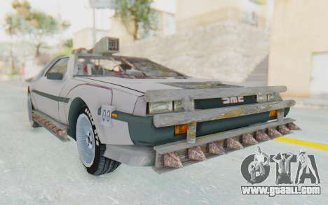 DeLorean DMC-12 2012 End Of The World for GTA San Andreas