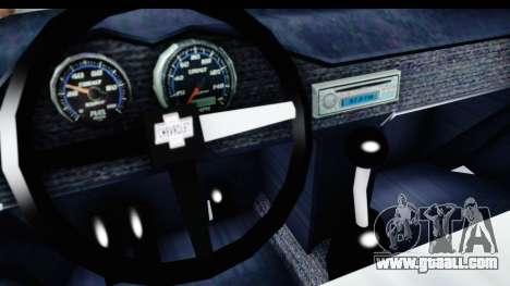 Chevrolet 3100 Diesel v2 for GTA San Andreas inner view