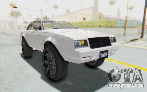 GTA 5 Willard Faction Custom Donk v2 for GTA San Andreas right view
