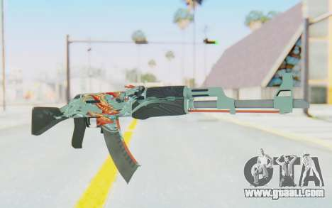 CS:GO - AK-47 Aquamarine Revenge for GTA San Andreas
