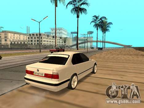 BMW E34 - EK edition for GTA San Andreas right view