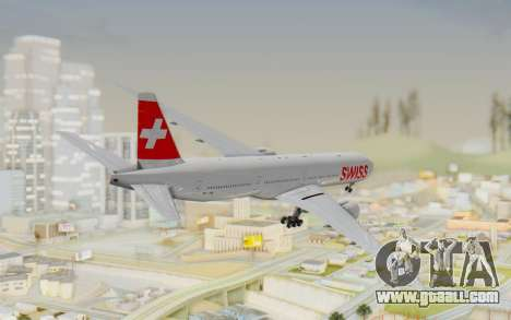 Boeing 777-300ER Swiss Global Air Lines for GTA San Andreas left view
