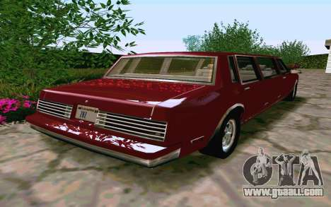 Tahoma Limousine v2.0 (HD) for GTA San Andreas right view