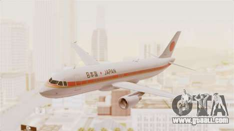 Airbus A320-200 Japanese Air Force One for GTA San Andreas