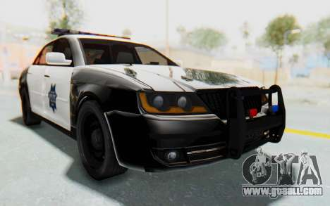 ASYM Desanne XT Pursuit v2 for GTA San Andreas right view