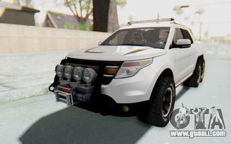 Ford Explorer Pickup for GTA San Andreas right view