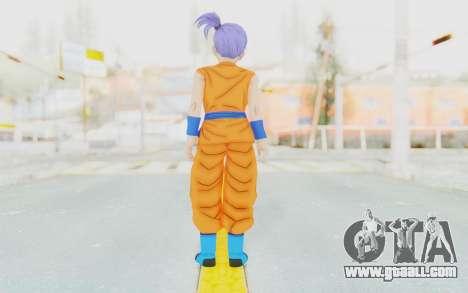 Dragon Ball Xenoverse Female Saiyan SJ for GTA San Andreas third screenshot