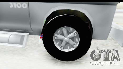 Chevrolet 3100 Diesel v2 for GTA San Andreas back view