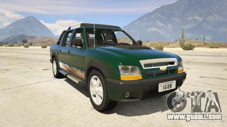 2011 Chevrolet S-10 Rodeio for GTA 5