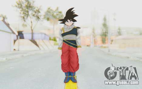 Dragon Ball Xenoverse Goku Yardrat Clothes for GTA San Andreas second screenshot