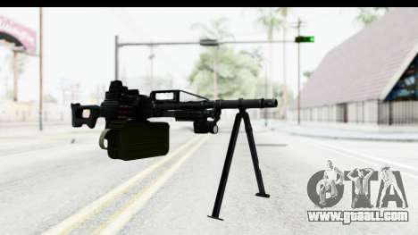 Kalashnikov PK (PKM) Holo for GTA San Andreas second screenshot