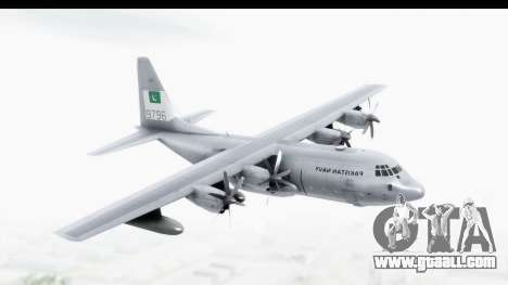 C-130 Pakistan for GTA San Andreas back left view