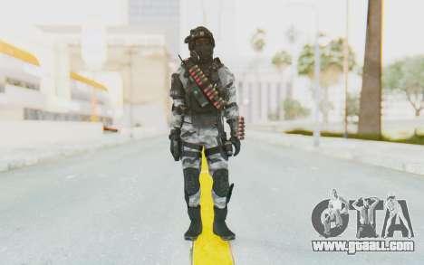 Federation Elite Shotgun Arctic for GTA San Andreas second screenshot