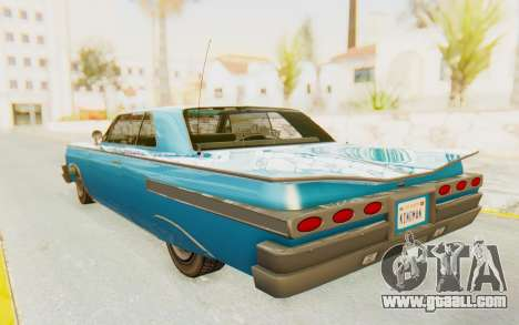 GTA 5 Declasse Voodoo PJ for GTA San Andreas left view